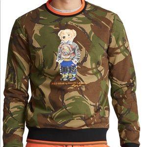• polo bear sweatshirt •